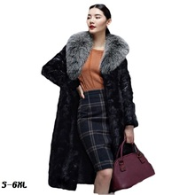 Fashion faux fur coat 2017 winter new mink fur fur coats for women in the long section of mink coat coat fur coat large yards