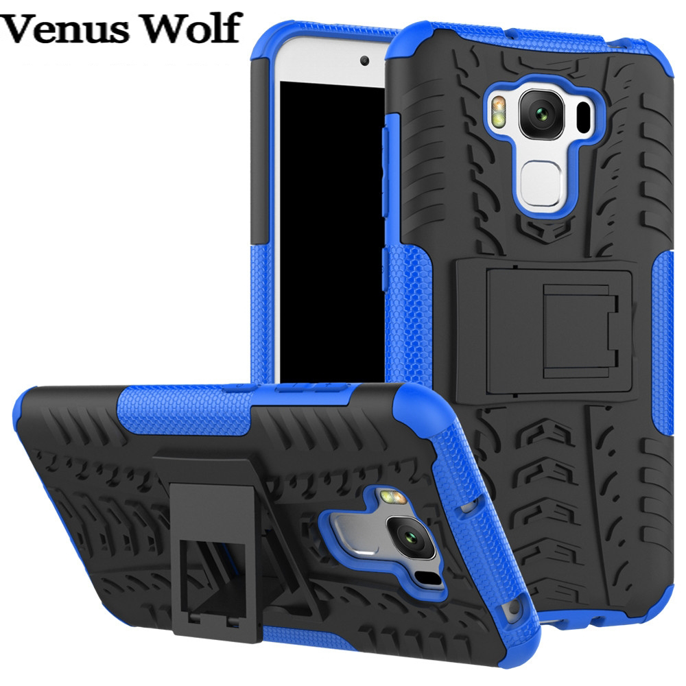 Hybrid TPU Armor Silicone Rubber Hard Cover for <font><b>ASUS</b></font> ZC553KL Zenfone 3 Max ZC553 <font><b>ZC</b></font> <font><b>553</b></font> <font><b>KL</b></font> 553KL Phone Case for <font><b>ASUS</b></font> X00DD X00DA image