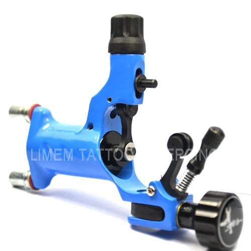 Rotary tattoo machine blue adjustable hybrid shader liner high quality dragonfly tattoo machine hot sale free shipping