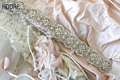 Beautiful new wedding belts elegant crystal bridal waistband pearls rhinestones diamond blings handmade dresses satin sash