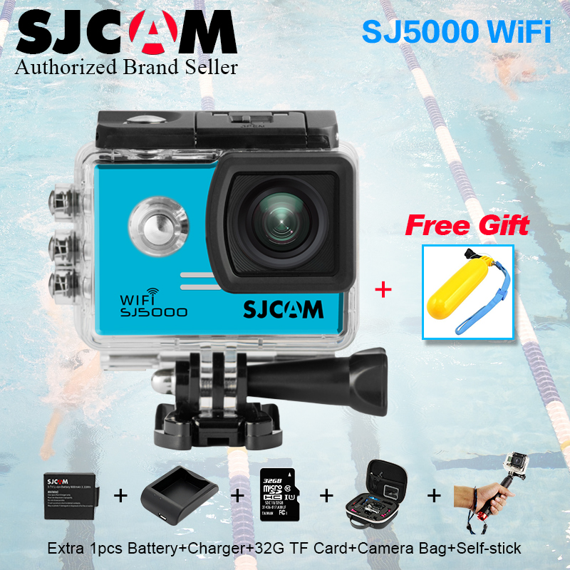100 % Original SJCAM SJ 5000  Wifi Action Camera 1080P Full HD Waterproof Sport DV Helmet Camera14MP Ultra Web vs go pro camera blue luxury evening clutch bag diamond crystal clutches party purse for prom ladies round wedding bridal bling banquet bag