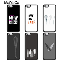MaiYaCa Love Baking Chef Knife TPU Phone Case For iphone 11 Pro MAX X XR XS MAX 6 6S 7 8 Plus 5 5S TPU Back Cover Fundas new iphone case for iphone 11 for iphone11 pro max 5 8 inches 6 1 inches 6 8 inches 6 6s 7 8 plus ix xr max x fashion back cover