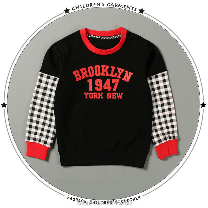 T-Shirt For Boy Sweater Ruffle Raglan Shirts Child Bobo Choses  The Boys Clothes Kids Tees Children Tops Teenage Boys Clothing 09