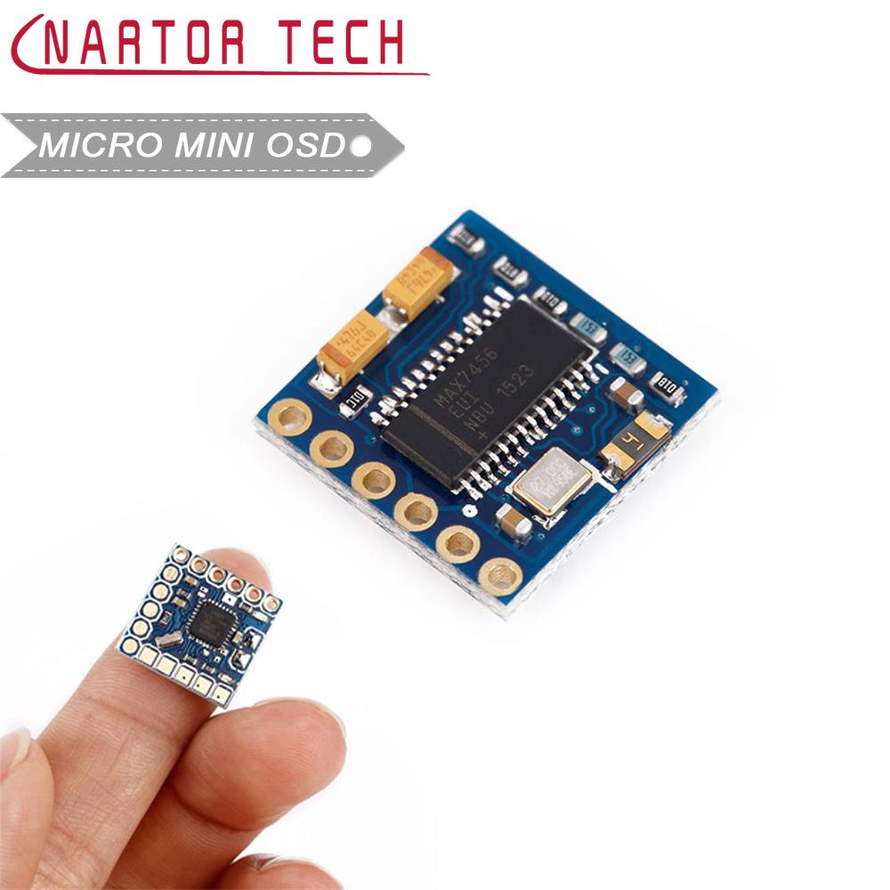 MICRO MINIMOSD Mini OSD for APM PIXHAWK Naze32 for NZACE Racing F3 Naze32 CC3D