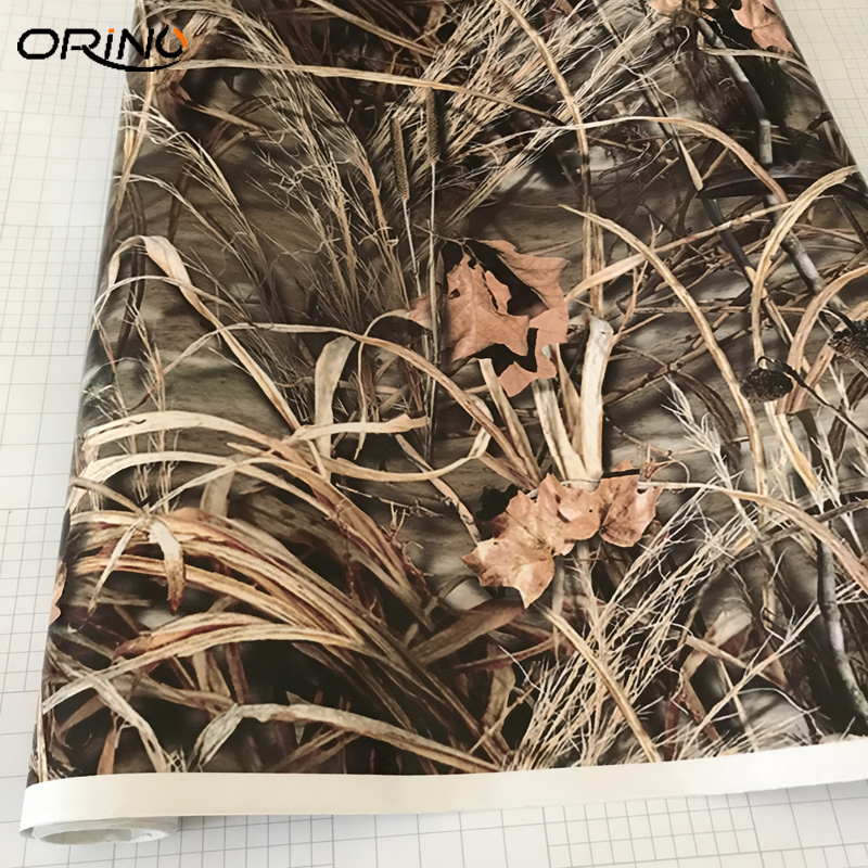 Image 2 - MATTE Realtree Camo Air Release Wrap Vinyl For Auto Truck Wraps Decals Size: 10/20/30/40/50X152CM-in Car Stickers from Automobiles & Motorcycles