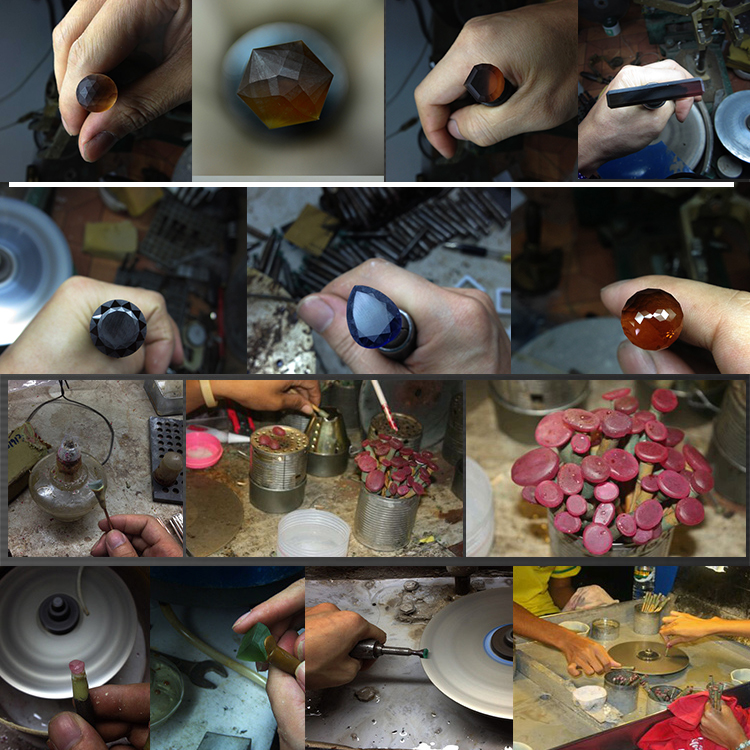 Gem Stone Grinding Machine faceting Wheel 96 index jewelry faceting machine