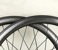 2018 быстрая 700c 45 мм велосипеды углеродного колеса, ямочка колесная, базальт торможения поверхность 25 мм ширина 303