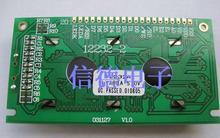 Бесплатная доставка! 12232 желто-зеленый экран 5 В ЖК-дисплей модуль