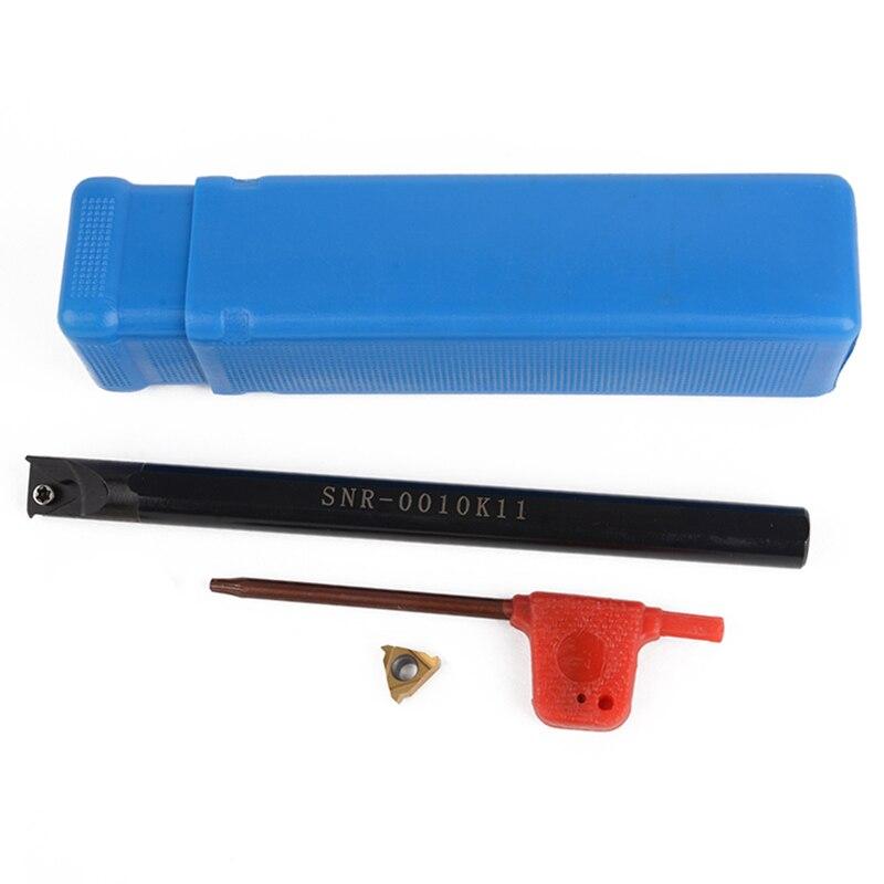 3 teile/satz SNR0010K11 Interne Boring Halter + Wrench + 11IR A60 Hartmetalleinsatz Für Drehmaschine Threading Drehwerkzeuge