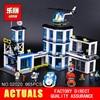 LEPIN 02020 965Pcs City Series The New Police Station Set Children Educational Building Blocks Bricks Toys