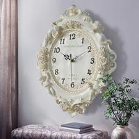 Free shipping European creative decorative wall clock living room bedroom silent clock hotel restaurant wall charts