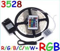 5M Waterproof LED STRIP 3528 IP65 Cool White RGB LED Strip Light Lamp 300 Led SMD