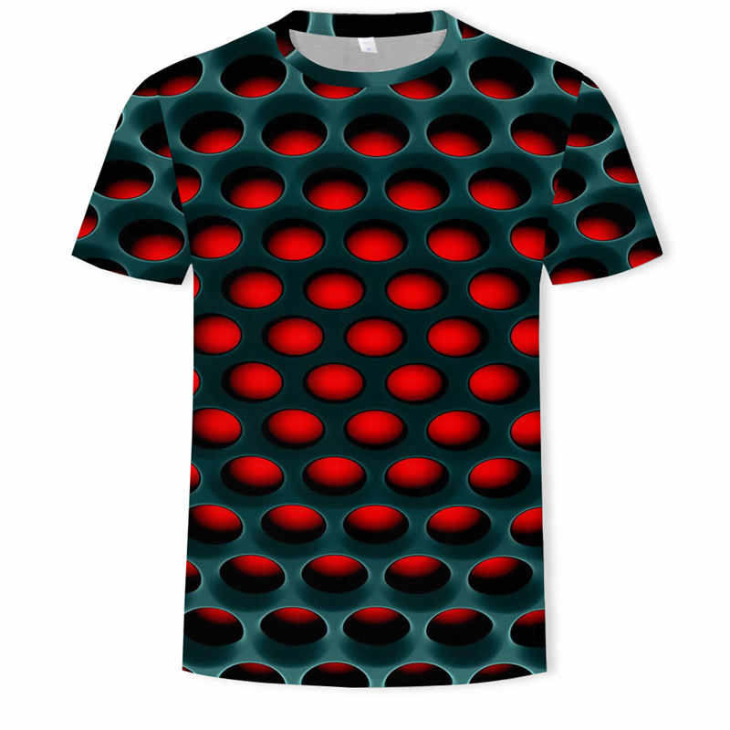S-5XL Плюс Размер Мужская одежда футболки короткий рукав o-образным вырезом свободные топы больших размеров футболки 2019 лето 3D точка печати свободные мужские футболки