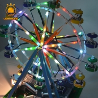 LIGHTAILING LED Light Kit For Creator Series Ferris Wheel Model Building Block Light Set Compatible With 15012 And 10247
