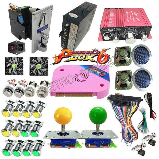 Pandora's Box 6 PCB 1300 in 1 Jamma - Full Kit for DIY Arcade Game Cabinet 1
