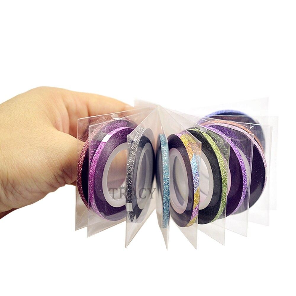 1 Stück 3mm Nagel Stripingklebebandnagelkunst Linie Für Nägel ...