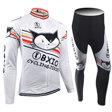 2017 nueva llegada bxio custom manga larga pro team bike ropa ciclismo jerseys del equipo de ciclismo en bicicleta otoño ropa 079