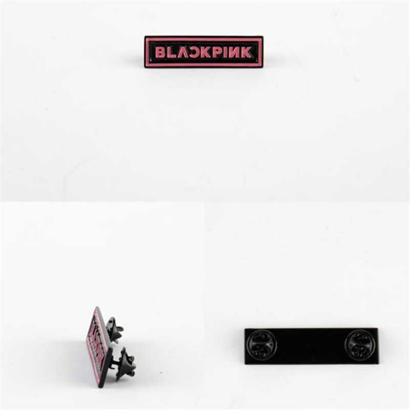 KPOP BLACKPINK Kim Loại Thổ Cẩm Chân Vải Trang Sức Túi Phụ Kiện Offical Nữ Bé Gái Trang Sức 7.6*10 CM