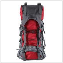 Hot Sale Mens Waterproof Nylon Travel Mountaineering Bag Zipper Backpack Backpacker 60L