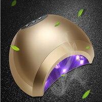 48W UV Lamp Gel LED Nail Lamp High Power For Nails All Gel Polish Nail Dryer Sensor Sun Led Light Nail Art Manicure Tool