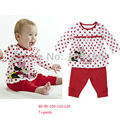 fashion baby clothing sets kids boys girls nightgown clothes polka dot printed childrens long sleeve cotton pajamas suit pjs