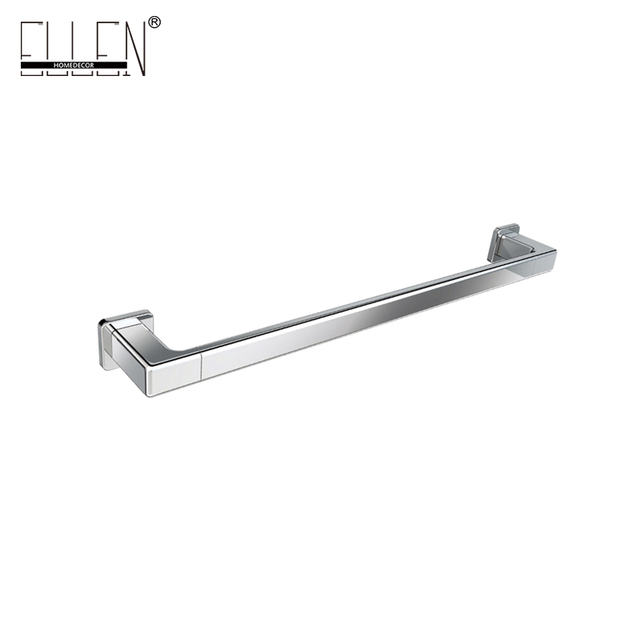 aliexpresscom buy square single towel bar 24 chrome bathroom