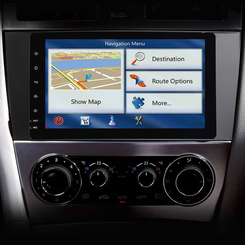 Android8.0 dvd-плеер автомобиля для Mercedes Benz C Class W203 2004-2007 c200 C230 C240 C320 C350 CLK W209 2005 сел Navi gps радио