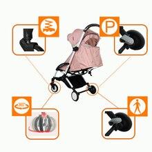 Baby Throne Portable Lightweight Umbrella Baby Stroller
