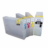 1set Empty Refillable Ink Cartridge For PGI2500 Series PGI 2500 Suit For Canon MAXIFY MB4050 MB5050