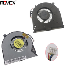 NEW Laptop Cooling Fan For Lenovo IdeaPad Y700-15ACZ Y700-15ISK Original PN: DFS551205WQ0T FGF2 CPU Cooler Radiator Replacement цена и фото
