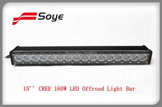 Newest 15 160w 11392lm single row cree led light bar used marine newest 15 160w 11392lm single row cree led light bar used marine electronic aloadofball Images