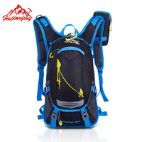 HUWAIJIANFENG 18L Cycling Camping Water Bag with Attached Phone Holder Outdoor Climbing Hydration Backpack Hiking Camelback
