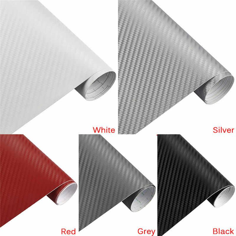 1pc 3 größen DIY Auto Aufkleber Matte Perle Punkt Auto Außen Carbon Faser Kundenspezifische Automotive Zubehör Farbe Ändern Film 5 farben
