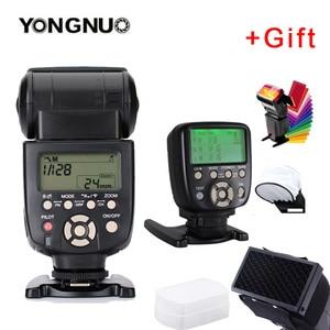 Image 2 - 2 個 YN560 III フラッシュスピードライト光 YN560TX II 液晶ワイヤレス手動フラッシュキヤノンニコンカメラ