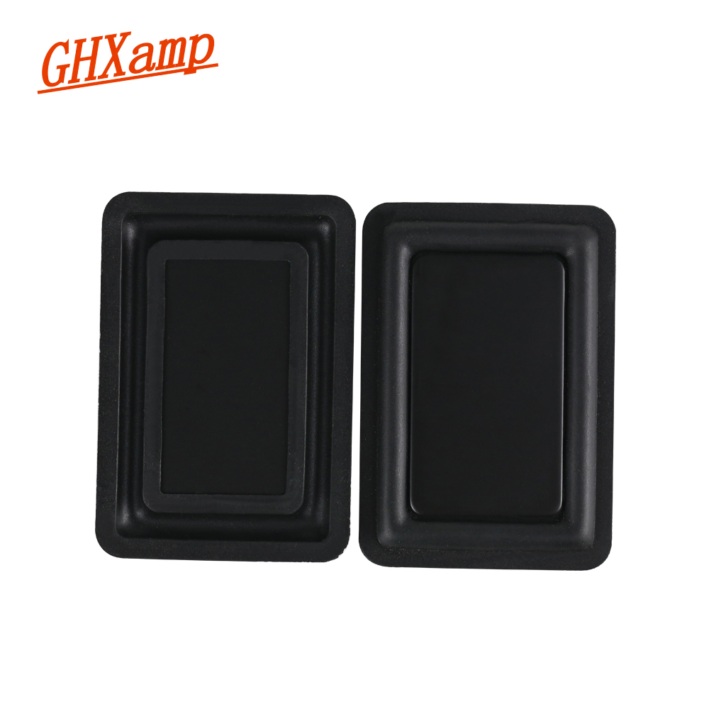 GHXAMP Recommend Passive Radiator Speaker 86*59mm Bass Vibration Plate Membrane Diaphragm For Below 5 Inch Speaker Low Frequency