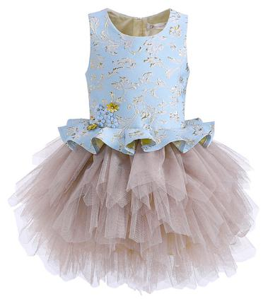 e83f2a7b43b3f Cutestyles Luxury Girls Dresses For Party Or Wedding Flower Prom Tulle  Children Princess Dress Kids Clothes