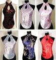Venta caliente chino plum flor de las mujeres atractivas camisa top bellyband underwear dd003