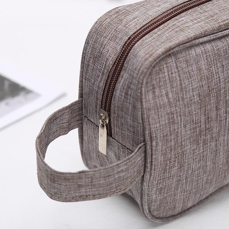 UOSC Brand Women Men Small Waterproof Makeup bag Travel Beauty Cosmetic Bag Organizer Case Necessaries Make Up Toiletry Bag