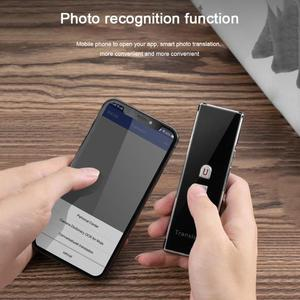 Image 5 - T6 Akıllı Gerçek zamanlı Çoklu Dil Bluetooth Çevirmen Çeviri Cihazı 2.4G Kablosuz Bağlantı Iki yönlü gerçek zamanlı interkom