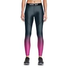 2016 Plus Size Gradiente Cinza Calça Esporte de Corrida Para As Mulheres S Para 4XL Tamanho Azul Preto Leggings Roupa de Jogging(China (Mainland))