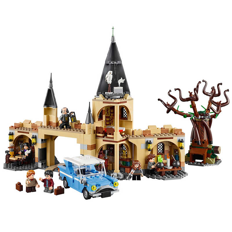 Harry Magic Whomping Willow Building Blocks 843pcs Brick Toys Compatible With LegoINGlys Movie 75953