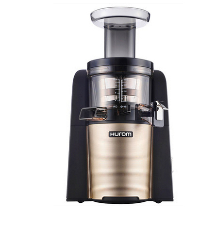New Slow Juicer HUE21WN Fruits Vegetable Low Speed Juice extractor Gold new hurom slow juicer hue21wn fruits vegetable low speed juice extractor make ice cream juicer