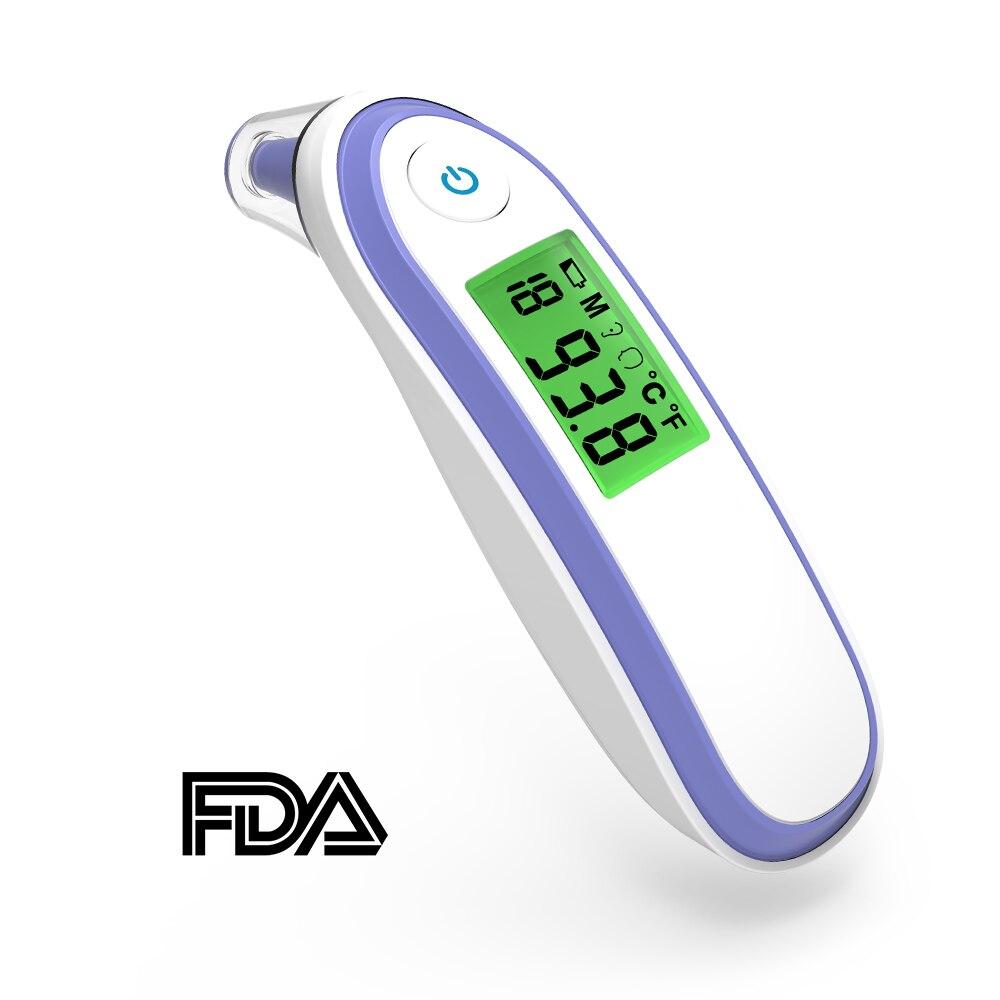 Elektronische Digital Thermometer Baby Infrarot Messung Fieber Muti-fuction Smart Thermometer Lcd Thermometer Für Kinder Pistole Thermometer