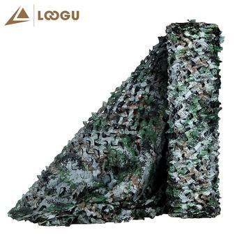 LOOGU E 1,5 м * 6 м камуфляжная сетка армейская палатка охотничья будка автомобиля непромокаемый тент Водонепроницаемый Навес Открытый Кемпинг к...