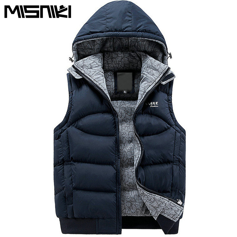 Aliexpress.com : Buy MISNIKI New Stylish Autumn Winter Vest Men ...