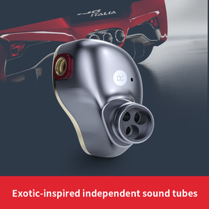 Image 4 - Original FiiO FH5 hifi earphone Metal Case Knowles Detachable Cable MMCX Design Quad Driver Hybrid Earphone 3.5mm plug
