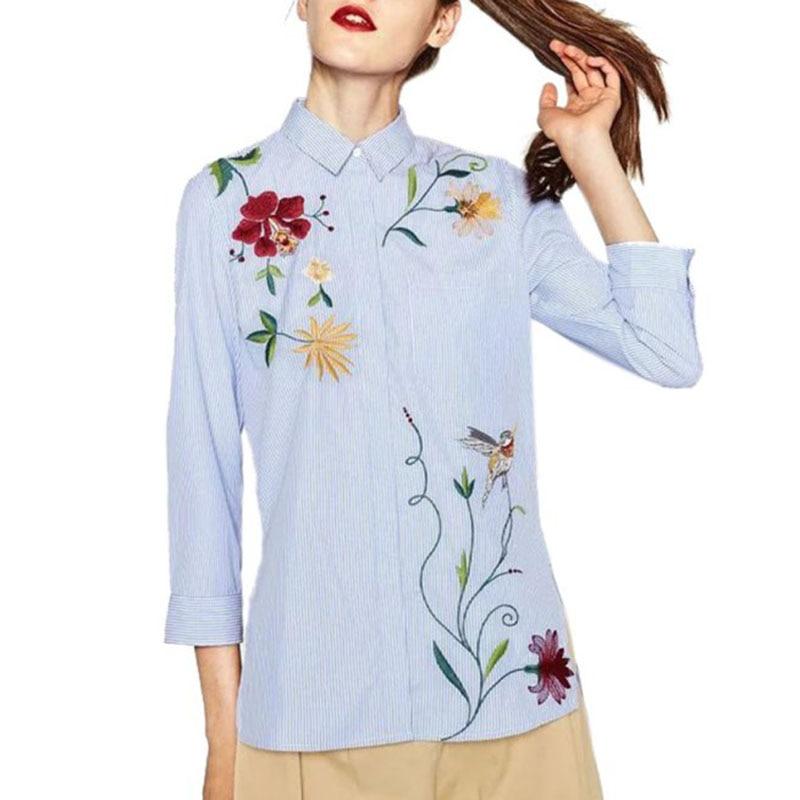"""Résultat de recherche d'images pour """"chemise rayée blanc et bleu femme"""""""