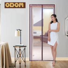 ODOM Magnetic Insect Door Screen Moustiquaire Fenetre Net Screen Bug Anti Mosquito Mesh Portiere Door