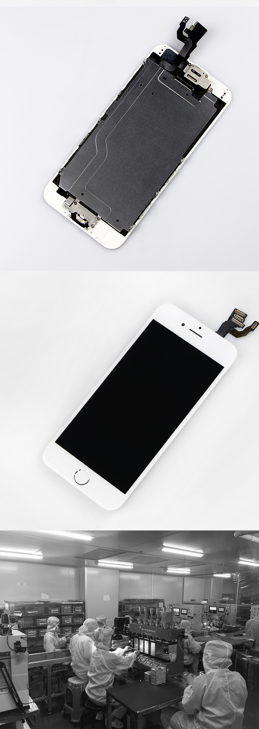 HTB11lPoXU rK1Rjy0Fcq6zEvVXam AAA+++ For iPhone 6 6S Plus LCD Full Assembly Complete 100% With 3D Force Touch For iPhone 5S 6Plus Screen Replacement Display