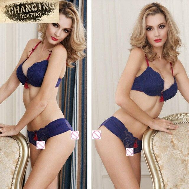 Women's Underwear Comfortable Female Bras Brief Sets Sexy Lingerie Bud Silk  Embroidered Brassiere Girls Nifty Bra